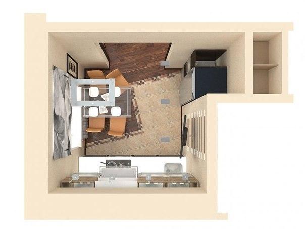 Планировка квартиры в сталинке 57,5 кв.м