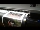 Широкоформатная печать на холсте