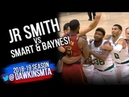 JR Smith SCUFFLE With Baynes And Marcus Smart 2018.10.06 | FreeDawkins