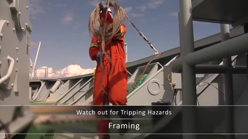 Maritime Training Hazards Awareness General Advice