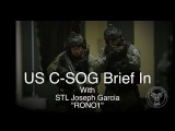 US C-SOG Brief-In with STL Joseph Garcia