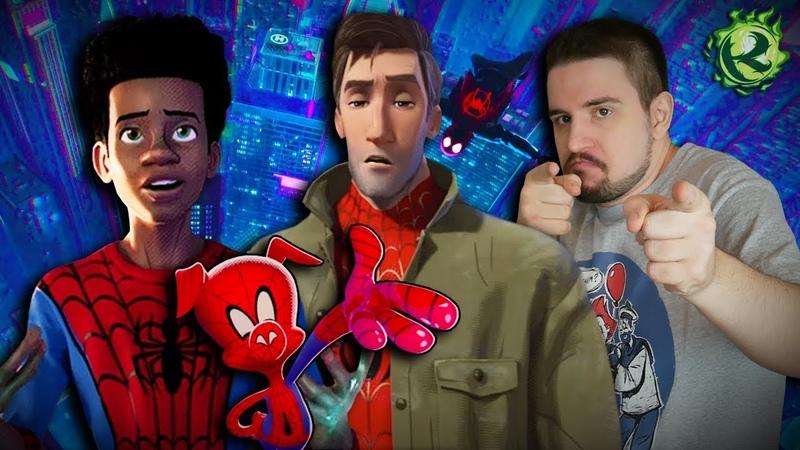 Человек-паук Через вселенные И ПРЯМО В СЕРДЕЧКО   Обзор Spider-Man Into the Spider-Verse