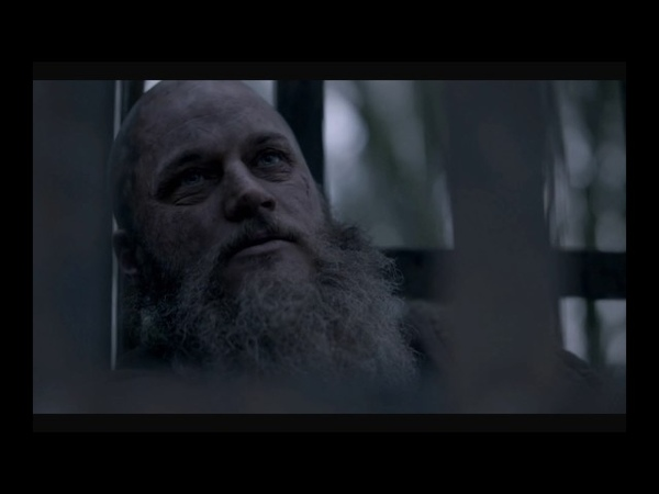 Ragnar and The Seer - The death of Ragnar Lothbrok