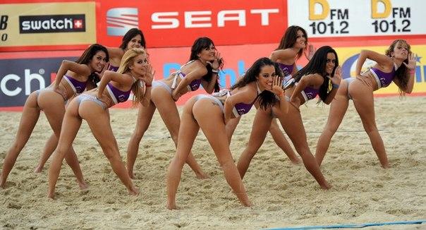 Женский волейбол в порно