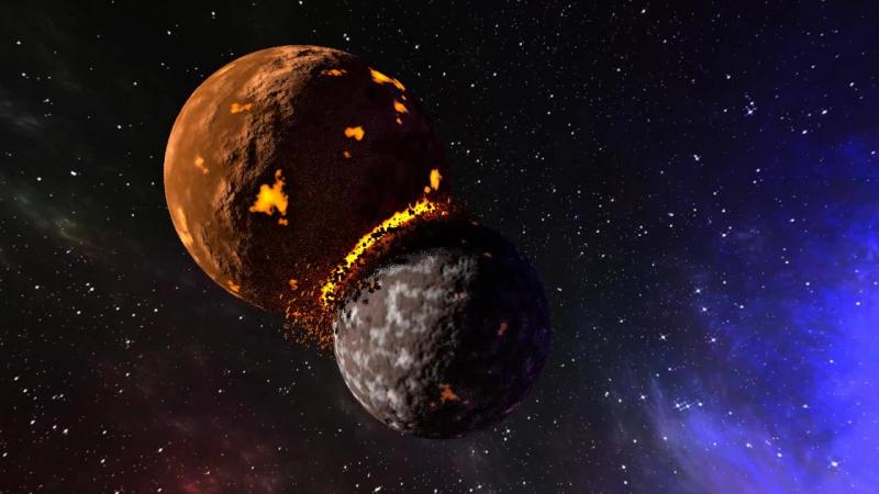 Столкновение планет