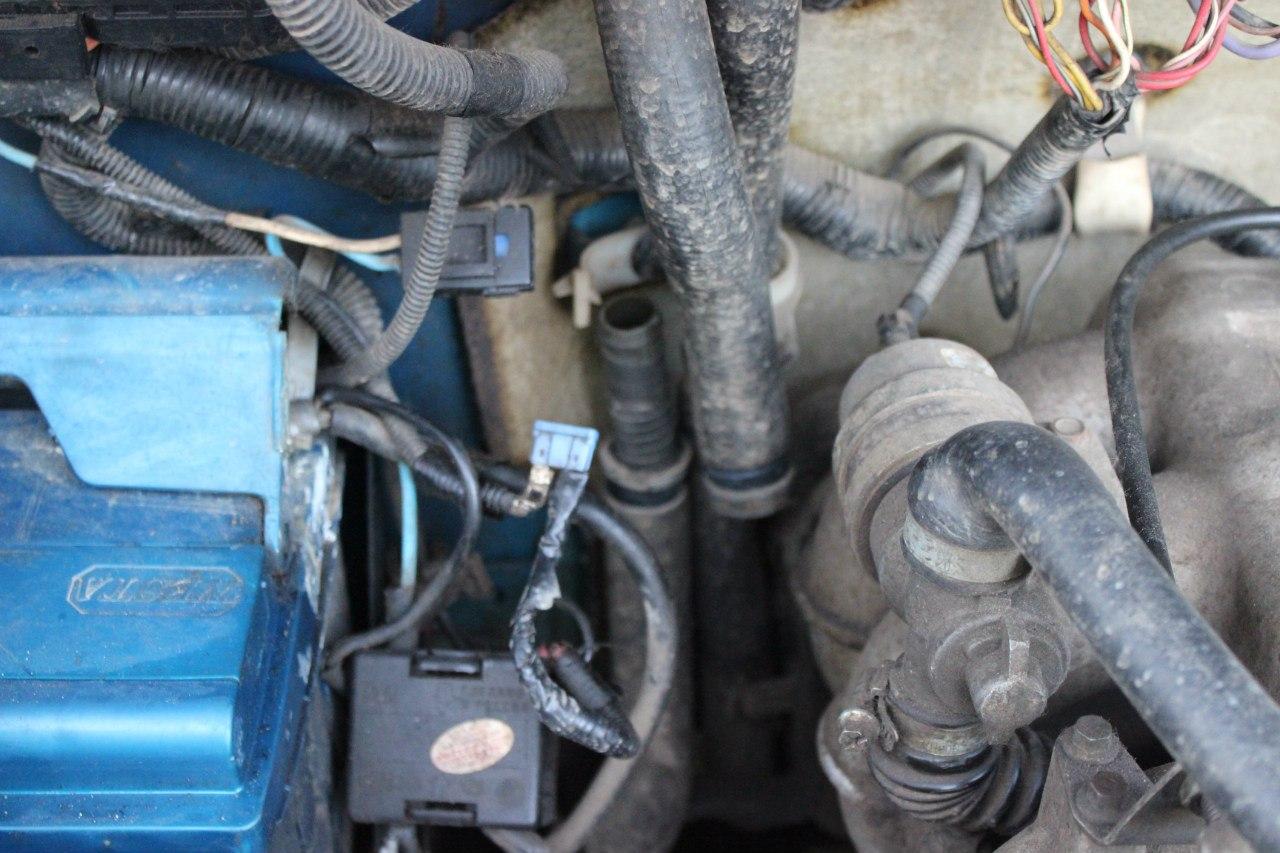 Фото схема подключения печного крана газель 4216