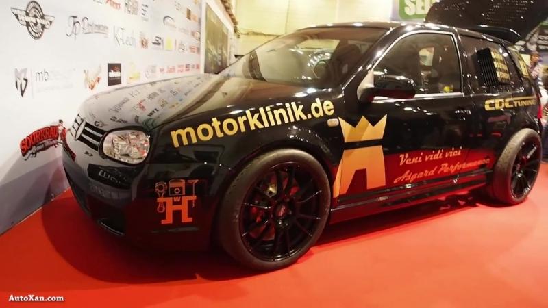 Volkswagen Golf 4 Tuning by Asgard Performance 1500ps 1600Nm Lambo 5.2 V10, Magnesium OZ R19