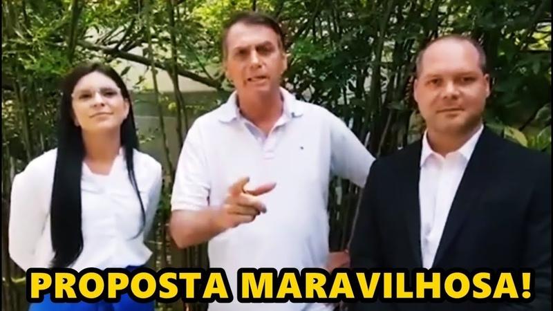Fantástico! Bolsonaro e General Mourão anuncia 13° aos que recebem Bolsa Familia em proposta