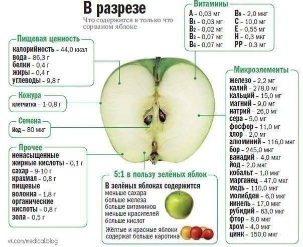 Польза яблок -9Z9-GDcHjI