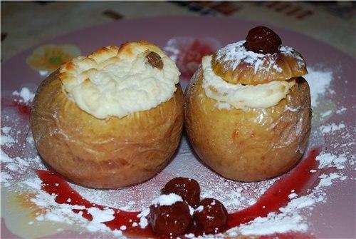 Фаршированные яблоки рецепты с фото