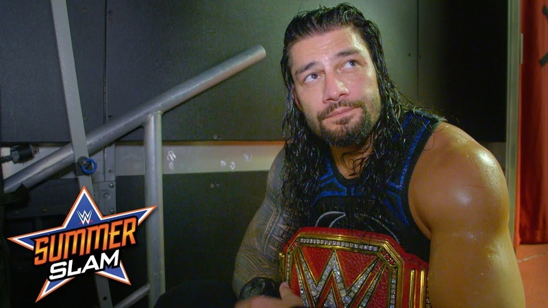 Roman Reigns came to win against Brock Lesnar at SummerSlam: SummerSlam Exclusive, Aug. 19, 2018