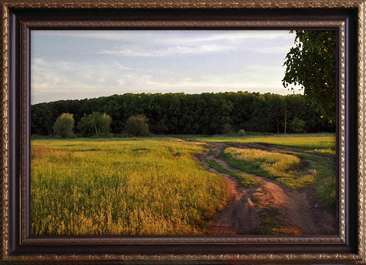 Или эта аллея будет в реальности радовать, или сохранится только в виде живописи.