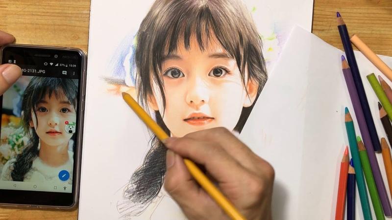 Colored Pencil Drawing / Vẽ Chì Màu / DP Truong