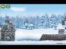 Маша и медведь   Игра в снежки