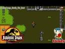 Парк Юрского периода игра на Денди 1993 Полное прохождение на русском языке Jurassic Park NES