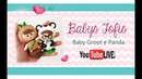 LIVE - Baby Fofis Groot e Panda