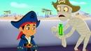 Джейк и Пираты Нетландии - Ученик Бородини/ Первый помощник мумия - серия 14, сезон 4 Disney