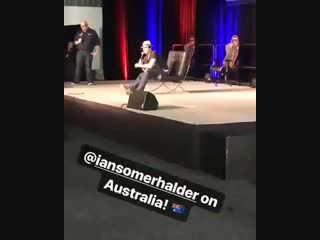 SUPANOVA COMIC CON | Ian Somerhalder Video | 04.11.2018 #5