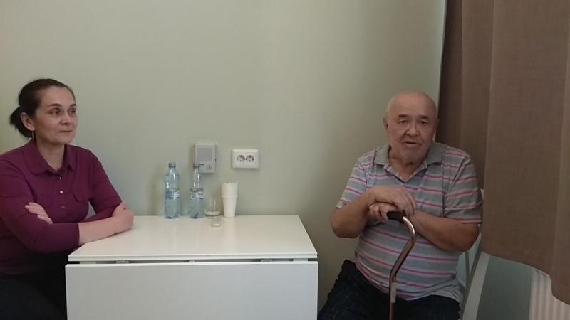 Видео отзыв для коллектива Юсуповской больницы и лечащего врача Мустафаевой Миланы Ханларовны