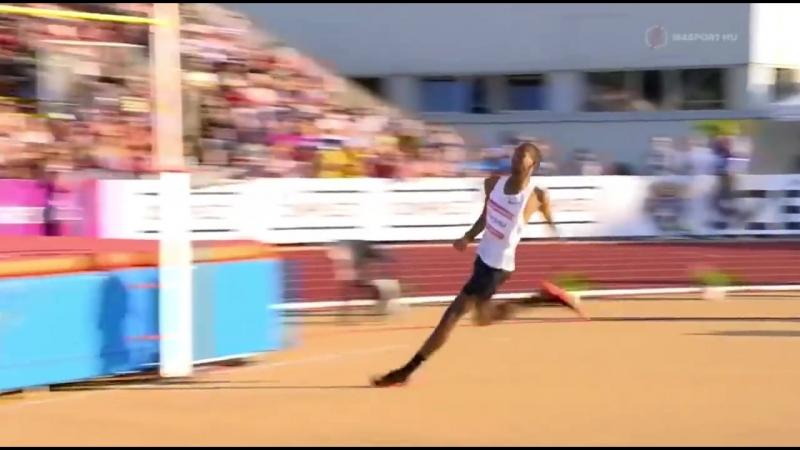 Mutaz Essa Barshim 246cm world record attempt @ Gyulai István Memorial Székesfehérvár, 2018