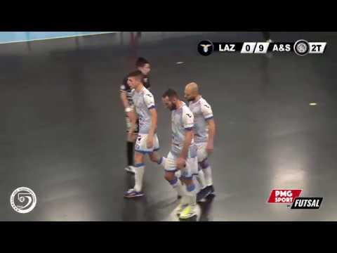 Serie A PlanetWin 365 Futsal | S.S. Lazio vs Acqua Sapone Unigross Highlights