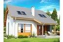 Z146.  Маленький, функциональный дом с острой крышей и просторной гостиной.