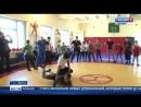 Олимпийский чемпион Алан Хугаев провёл зарядку для школьников в селении Балта