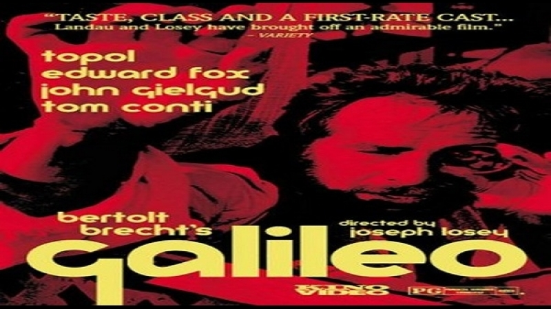 1975 Joseph Losey, - Galileo - [dual ITA-ENG] Chaim Topol Colin Blakely Georgia Brown
