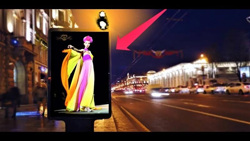 хромакей пример создания рекламных роликов для ю тюб, в контакте, фейс бук Одноклассниках