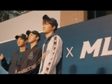 [MLB] EXO in HONG KONG TIMES SQUARE with #MLBCREW