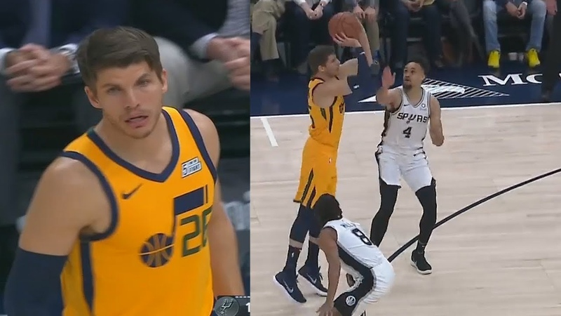 Kyle Korver MAKES THE CAVS REGRET TRADING HIM GETS STANDING OVATION FROM JAZZ CROWD!