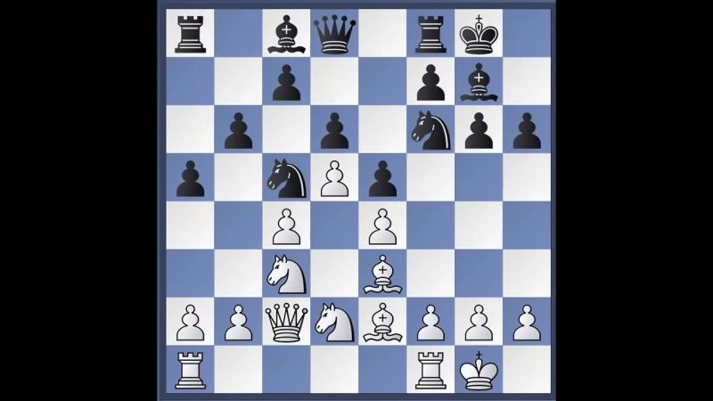 Шахматы.Староиндийская защита. СистемаПетросяна 2 часть