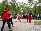 Показательное выступление кикбоксеров школы Удар 1.6.13