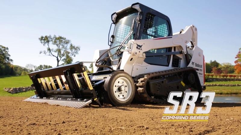 SR3 Command Series - Skid Steer Grading Rake