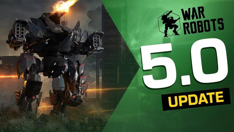 War Robots Update 5.0 Overview (5th Anniversary Event, Ragnarok Squad, Invader Blitz Rebalance)