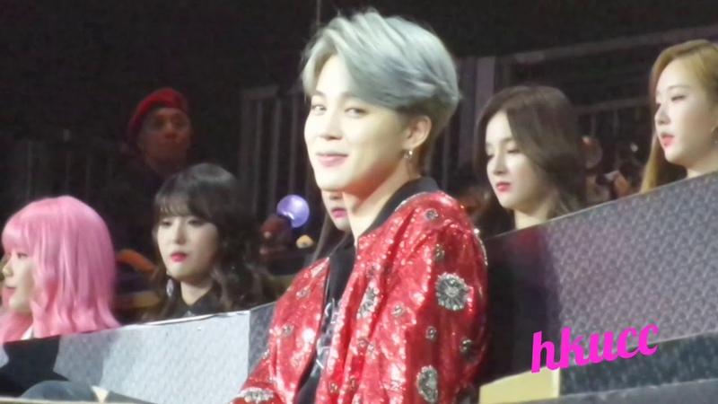 181214 2018 MAMA BEST ASIAN STYLE AWARD - BTS SWEET JIMIN FOCUS