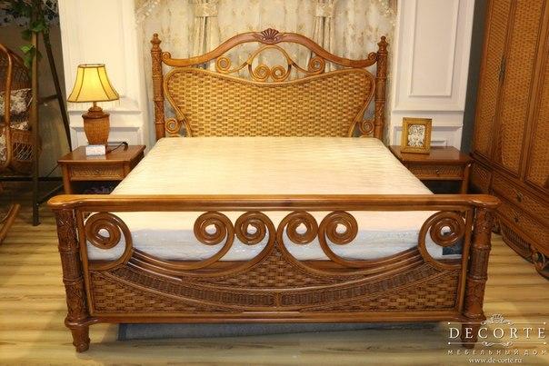 Кровать из ротанга купить 136