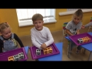 Небольшой отрывок занятия по программе Смышлёный дошкольник
