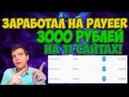 Заработал 3000 рублей на Payeer кошелёк на 11 сайтах Как заработать на Payeer кошелёк без вложений