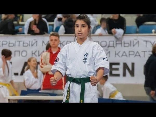 Найле Арифова стала чемпионкой Европы в 12 лет