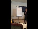 Идет тренинг «Алгоритмы успеха вашего центра» с Еленой Артемовой Москва