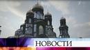 Проект Главного Храма Вооруженных сил России показали на архитектурной биеннале в Венеции