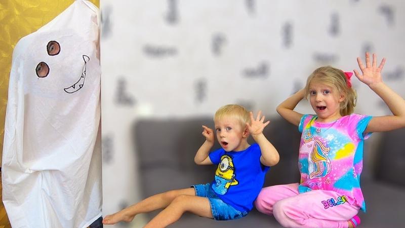 ПАПА ПЕРЕОДЕЛСЯ в ПРИВЕДЕНИЕ Дети Играют в ПРЯТКИ с ПРИВЕДЕНИЕМ Скетч от Family Box