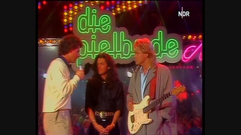 Modern Talking - Jet Airliner (ARD. Die Spielbude, 03.06.1987).