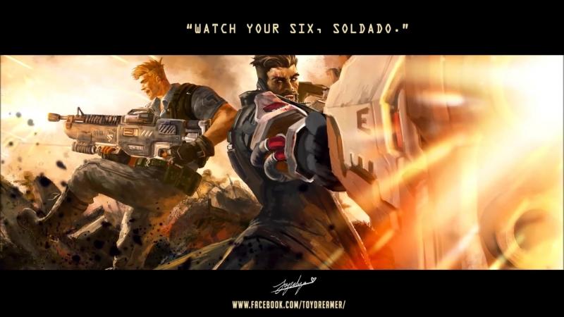 Guns ablazing, horizons all consuming. Watch your six, soldado