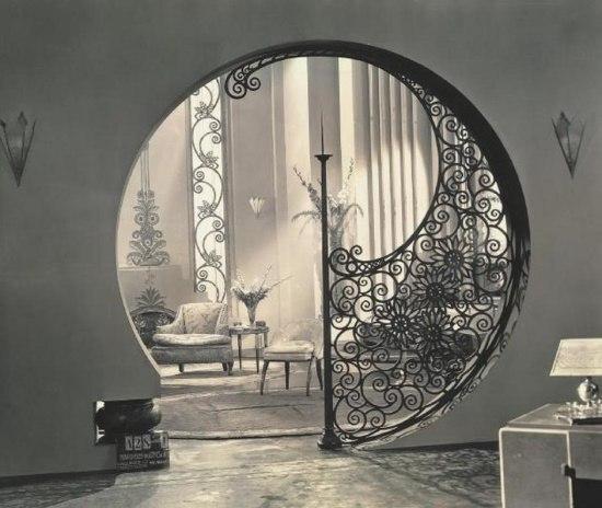 Смелое решение арки в интерьере