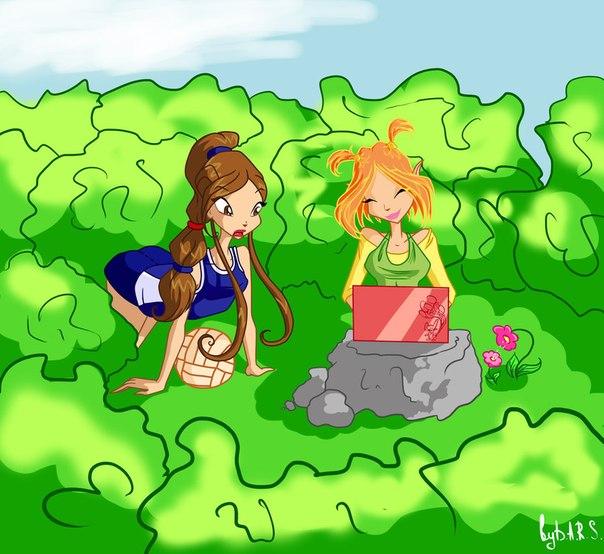Рисунки аниме и винкс, +видеоклипы ^^)