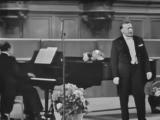 Сергей Яковлевич Лемешев. 1965г. Концерт.