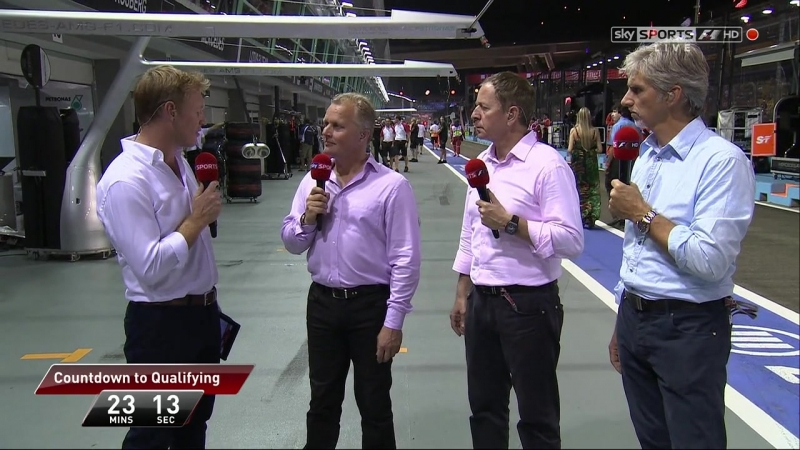 Гран при Сингапура 2012 Pre Qualifying Sky Sports