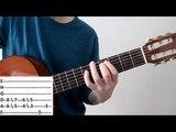Как играть мелодию Розовая пантера на гитаре!